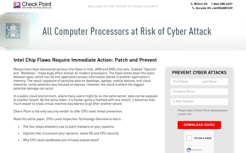 Stay Protected with CPU-Level Inspection | Check Point Software