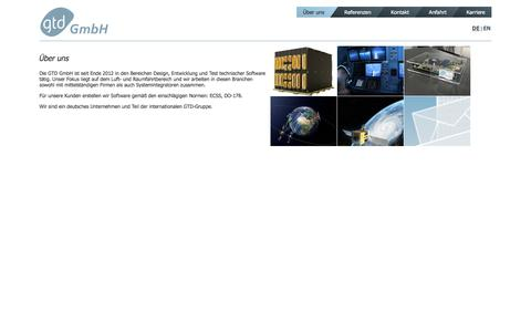 Screenshot of Home Page gtd-gmbh.de - GTD GmbH - Experten f�r On-Board Software - captured Dec. 6, 2015