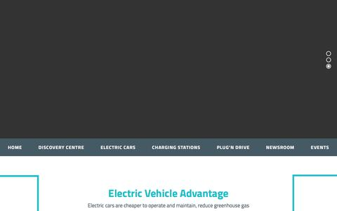 Screenshot of Home Page plugndrive.ca - Plug'n Drive – Electric Cars - captured July 19, 2018