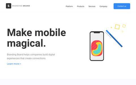 Enterprise Mobile App Platform for Retail, Hospitality, and B2B
