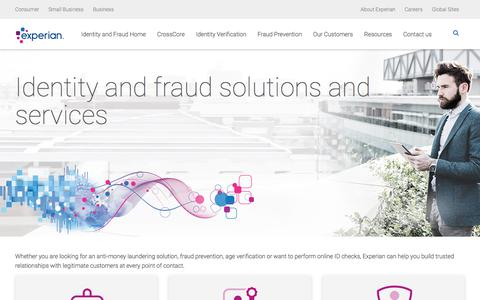 Identity & Fraud | Experian UK