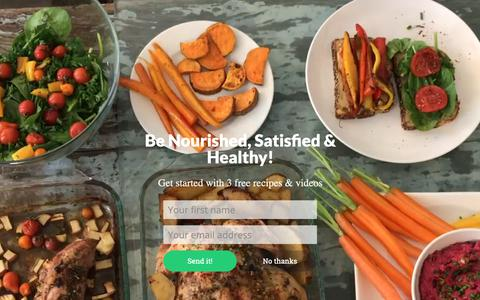 Screenshot of Home Page homemade-cooking.com - Losing Weight Made Easy With The Best Diet. Homemade Method. - captured Dec. 15, 2018