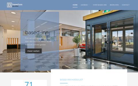 Screenshot of Home Page based-inn.nl - Home HQ - Based Inn Hoogvliet - captured Aug. 4, 2018