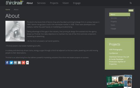 Screenshot of About Page gothirdrail.com - About   GO Thirdrail - captured Nov. 27, 2018