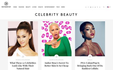 Celebrity Beauty Looks And Makeup Inspiration