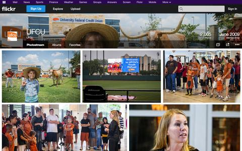 Screenshot of Flickr Page flickr.com - Flickr: UFCU's Photostream - captured Oct. 26, 2014