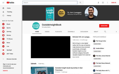 OutsideInsightBook - YouTube - YouTube