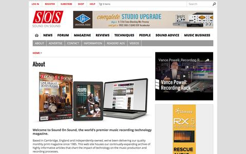 Entertainment & Lifestyle About Pages | Website Inspiration and