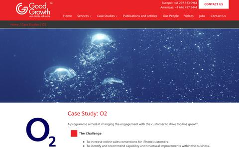 Screenshot of Case Studies Page goodgrowth.co.uk - O2 – Good Growth Test - captured Sept. 25, 2017