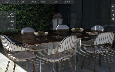 Screenshot of Home Page myface.com.pt - Welcome - Myface / Outdoor Furniture Design - captured Oct. 1, 2015