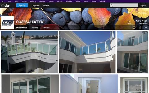 Screenshot of Flickr Page flickr.com - Flickr: nbaesquadrias' Photostream - captured Nov. 5, 2014