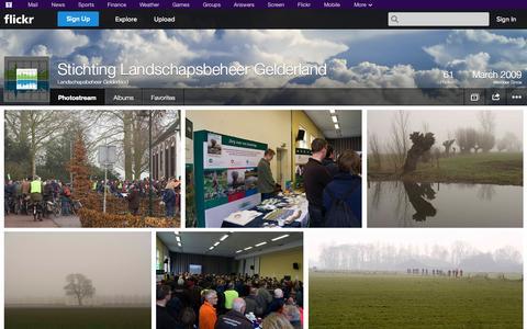 Screenshot of Flickr Page flickr.com - Flickr: Landschapsbeheer Gelderland's Photostream - captured Oct. 22, 2014