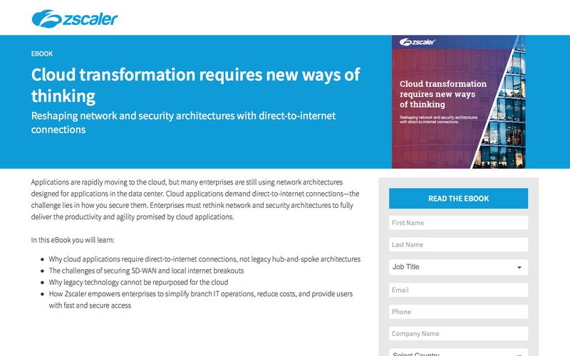 Cloud Transformation   Reshaping Network and Security   eBook