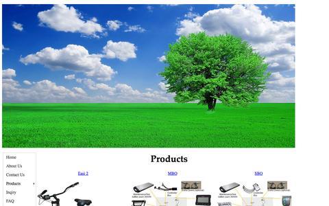 Screenshot of Products Page gwaenergy.com - GWA Energy - captured Nov. 1, 2014