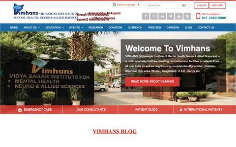 Screenshot of Blog vimhans.com - Blog - captured Oct. 25, 2018