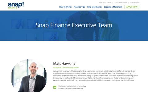 The Team | Snap Finance