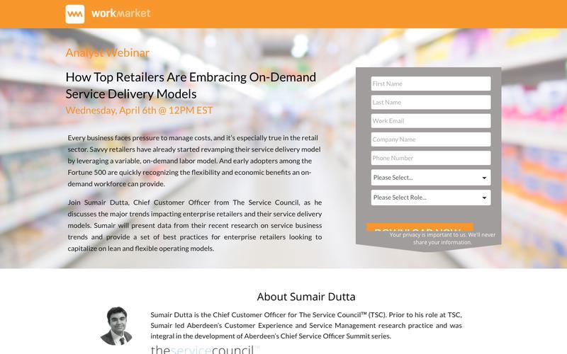 On-Demand Service Webinar | Work Market