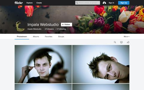 Screenshot of Flickr Page flickr.com - Impala Webstudio   Flickr - Photo Sharing! - captured Nov. 23, 2015