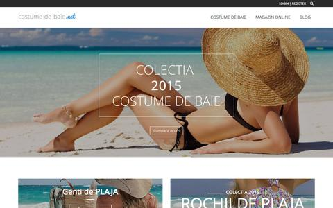 Screenshot of Home Page costume-de-baie.net - Costume de baie - captured Oct. 11, 2015