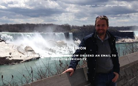Screenshot of Contact Page jericho.tv - Contact | Jericho.TV - captured Feb. 11, 2016