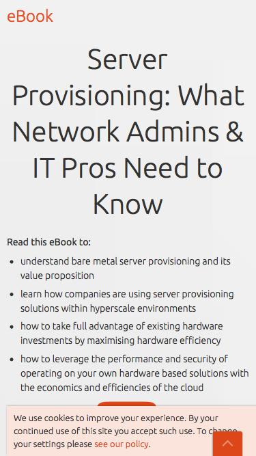 eBook: Server Provisioning: What you need to know