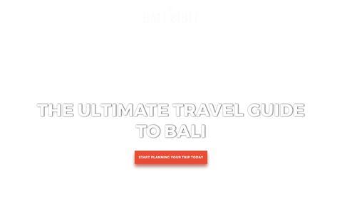 The Bali Bible - Welcome to The Bali Bible