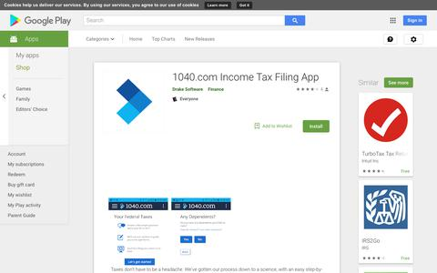 1040.com Income Tax Filing App - Apps on Google Play