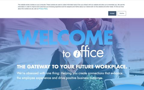 Screenshot of Team Page iofficecorp.com - The iOFFICE Team - Leading Innovation in the Workplace | iOFFICE - captured Feb. 13, 2019
