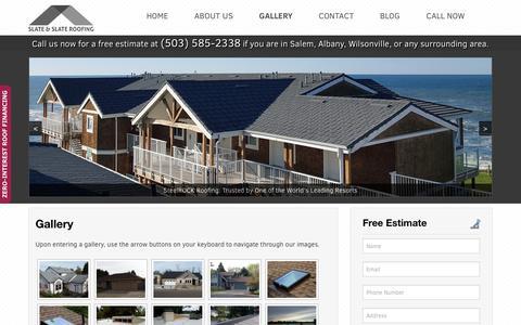 Salem Roofing Photo Gallery/Portfolio - Slate & Slate Roofing
