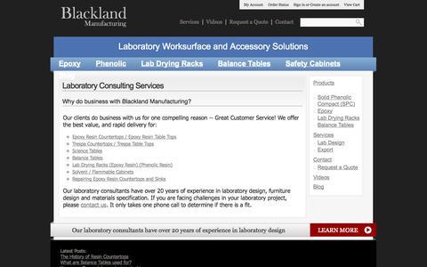 Screenshot of Services Page blacklandmfg.com - Services « Blackland Manufacturing   Blackland Manufacturing - captured Oct. 5, 2014