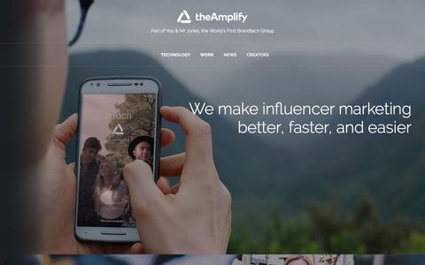 theAmplify | A Creative Brandtech Influencer Service