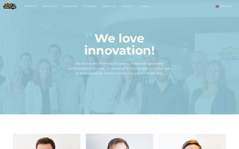 Screenshot of Team Page whataventure.com - Team - WhatAVenture - captured Nov. 16, 2018