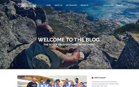 Screenshot of Blog experienceaviation.org - BLOG - captured July 24, 2018