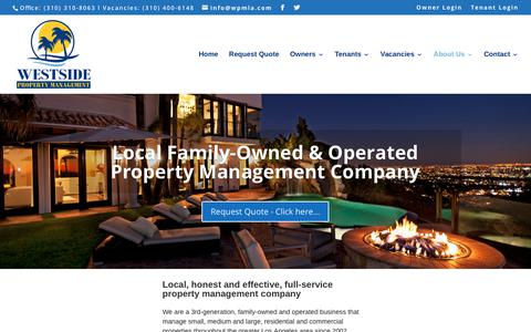 About Us | Westside Property Management