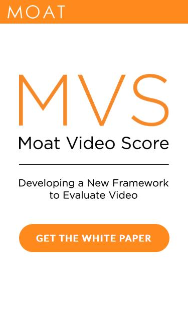 The Moat Video Score: Developing a New Framework to Evaluate Video