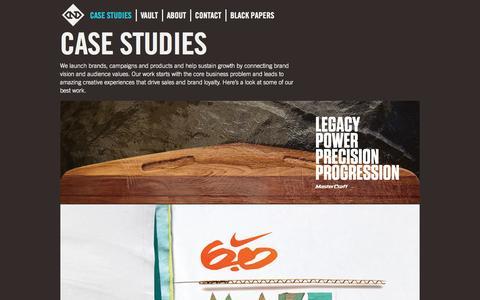 Screenshot of Case Studies Page nemodesign.com - Nemo Design Case Studies | Turning Cultural Values into Corporate Value - captured Oct. 7, 2014