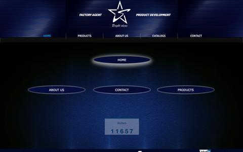 Screenshot of Home Page stellarexpress.com - Stellar Express Ltd - Bright ideas, new product development - captured Oct. 20, 2018