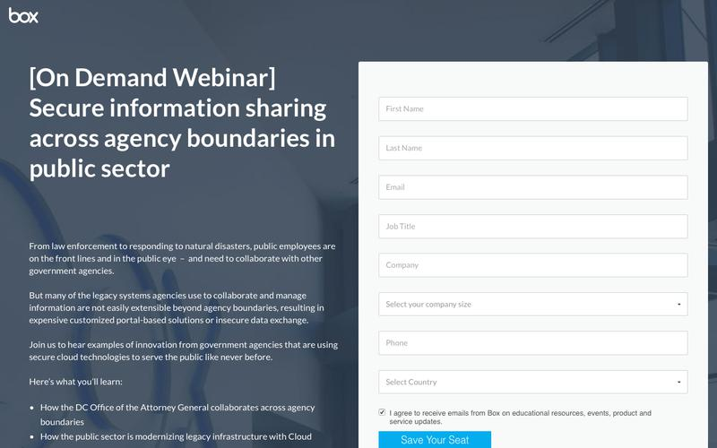 Secure information sharing across agency boundaries in public sector