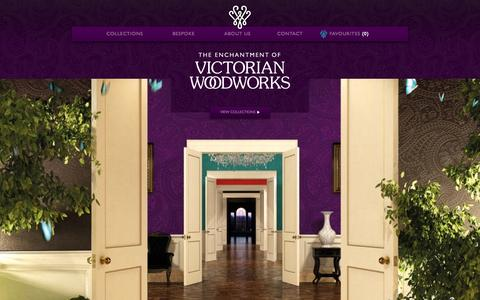 Screenshot of Home Page victorianwoodworks.co.uk - Victorian Woodworks | Luxury Antique & Reclaimed Wood Flooring | London - captured Sept. 26, 2014
