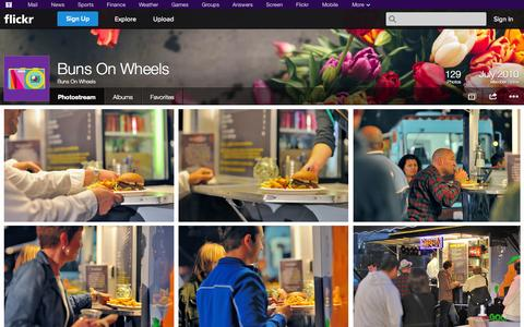 Screenshot of Flickr Page flickr.com - Flickr: Buns On Wheels' Photostream - captured Oct. 23, 2014
