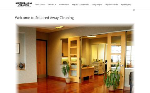 Welcome to Squared Away Cleaning - Squared Away Cleaning