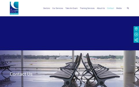 Screenshot of Contact Page caainternational.com - Contact - CAA International (CAAi) - captured July 14, 2018