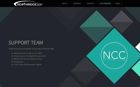 Screenshot of Support Page northridgechristian.com - Northridge Christian Church | Support - captured Nov. 30, 2016