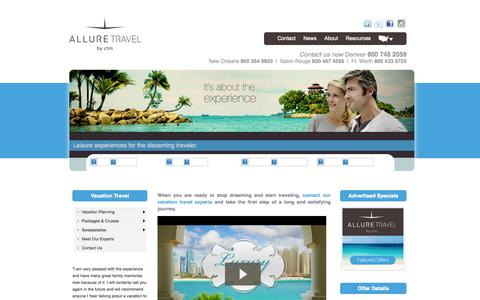 Screenshot of Privacy Page malcolmtravel.com - Vacation Travel - captured Oct. 4, 2014