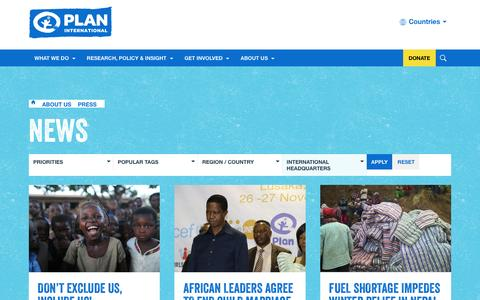Non-Profit pages | Website Inspiration and Examples | Crayon