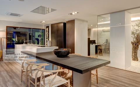 Screenshot of Home Page cocinel-la.com - Cocinel-la creamos espacios para tu hogar. Cocinas en Sevilla - captured May 19, 2017