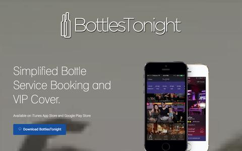 BottlesTonight - Same-Day VIP Bottle Service Booking