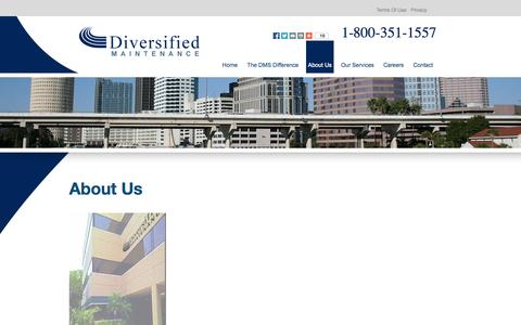 Screenshot of About Page diveinc.com captured Oct. 5, 2014