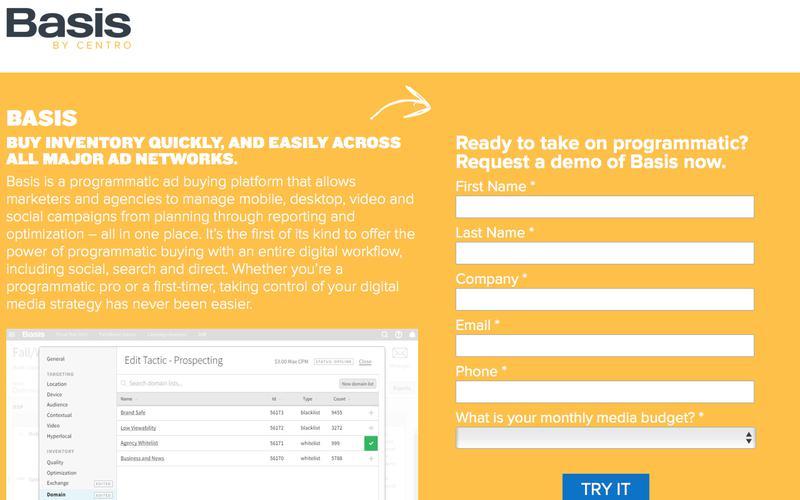 Basis Ad Network
