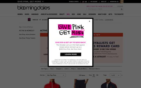 Men's Designer Activewear & Workout Clothes - Bloomingdale's